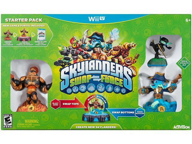 Skylanders SWAP Force Starter Pack Wii U Game