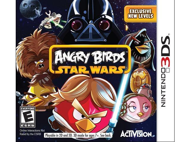 Angry Birds Star Wars Nintendo 3DS Game