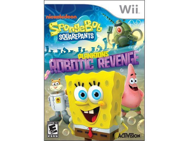 SpongeBob SquarePants: Plankton's Robotic Revenge Wii Game