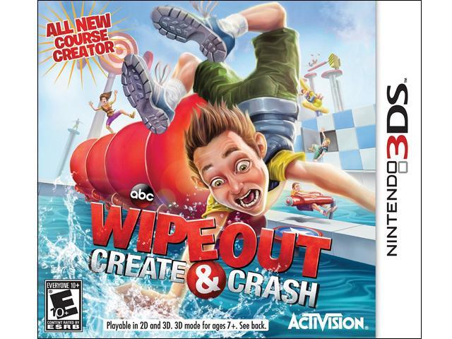 Wipeout Create & Crash Nintendo 3DS