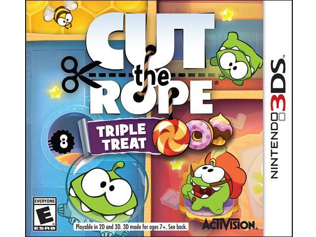 Cut The Rope: Triple Treat Nintendo 3DS