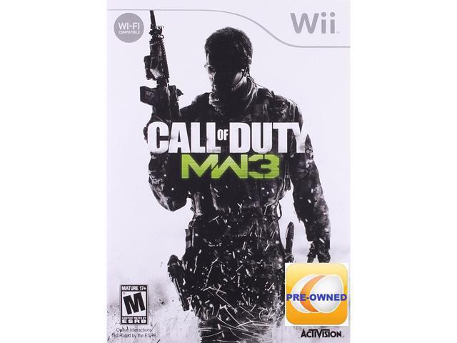 Pre-owned Call of Duty Modern Warfare 3 Wii