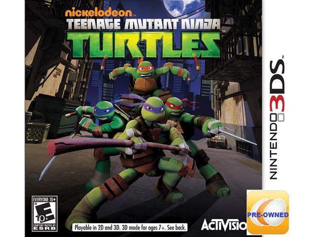 Pre-owned Teenage Mutant Ninja Turtles 3DS