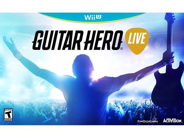 Guitar Hero Live 2 Guitar Bundle Pack Nintendo Wii