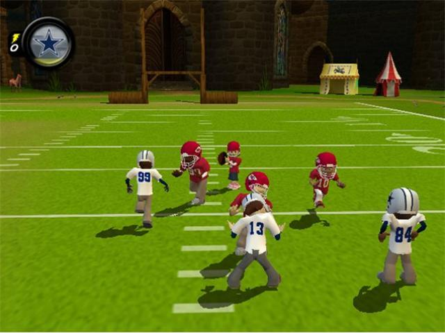 Backyard Football 2009 Wii Game ATARI