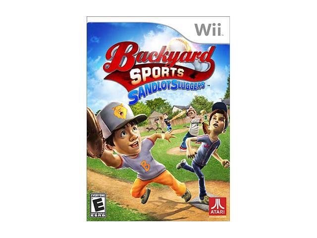 Backyard Sport Sandlot Slugger Wii Game