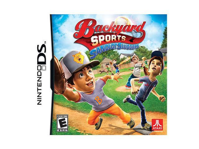 Backyard Sport Sandlot Slugger Nintendo DS Game