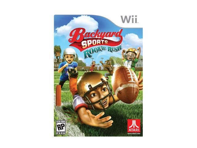 Backyard Sports Football: Rookie Rush Wii Game