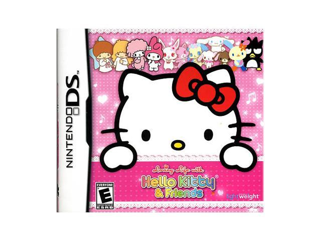 Loving Life With Hello Kitty Friends Nintendo DS Game
