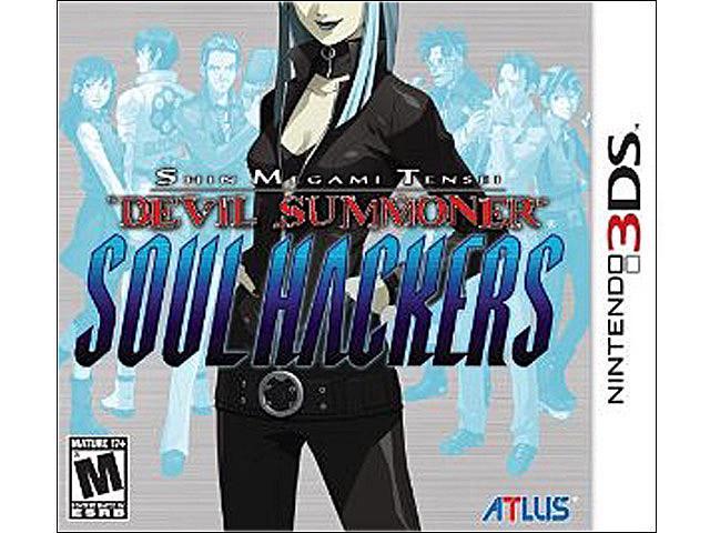 Shin Megami Tensei: Devil Summoner: Soul Hackers Nintendo 3DS Game