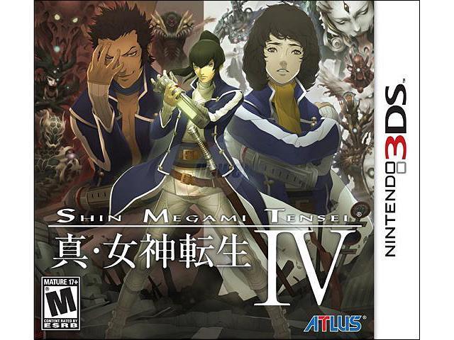 Shin Megami Tensei IV Nintendo 3DS Game ATLUS