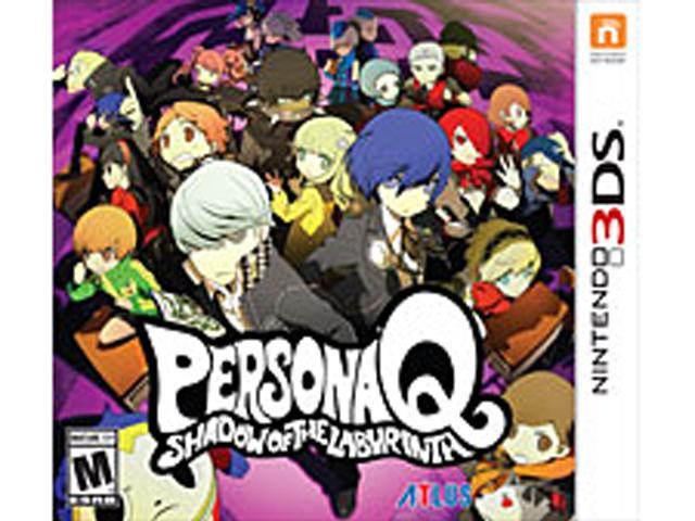 Persona Q: Shadow of the Labyrinth: Standard Edition Nintendo 3DS