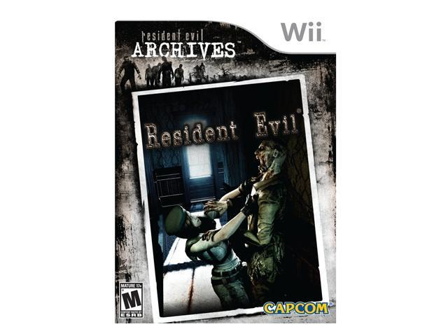 Resident Evil Archives Wii Game