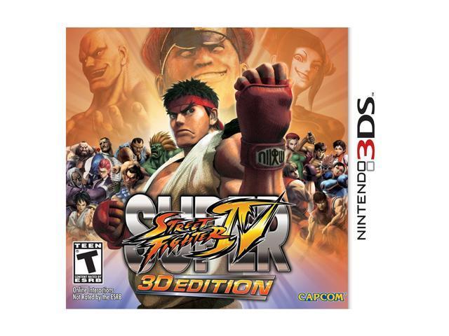 Super Street Fighter IV Nintendo 3DS Game