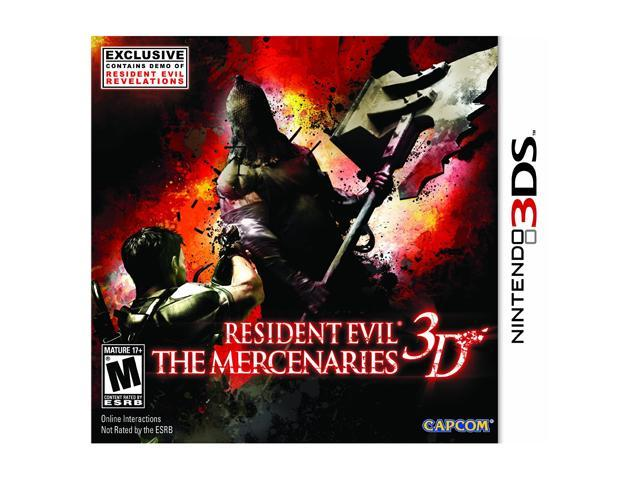 Resident Evil Mercenaries Nintendo 3DS Game