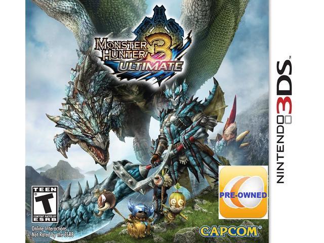 Pre-owned Monster Hunter 3 Ultimate 3DS
