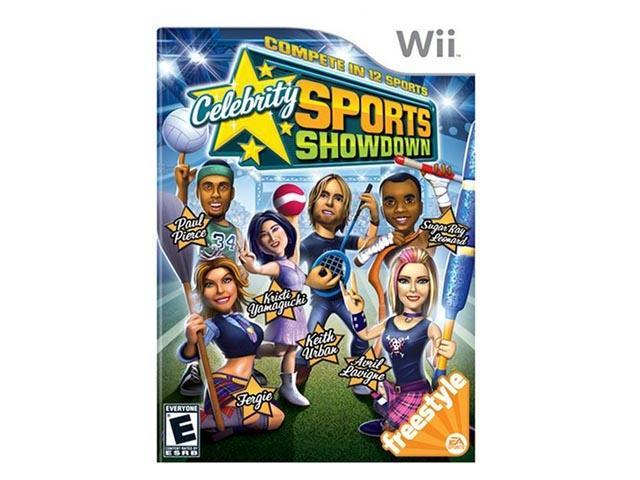 Celebrity Sports Showdown Wii Game