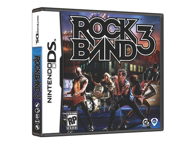 Rock Band 3 Nintendo DS Game