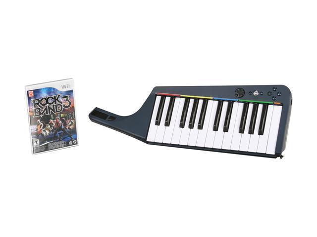 Rock Band 3 Keyboard Bundle Wii Game