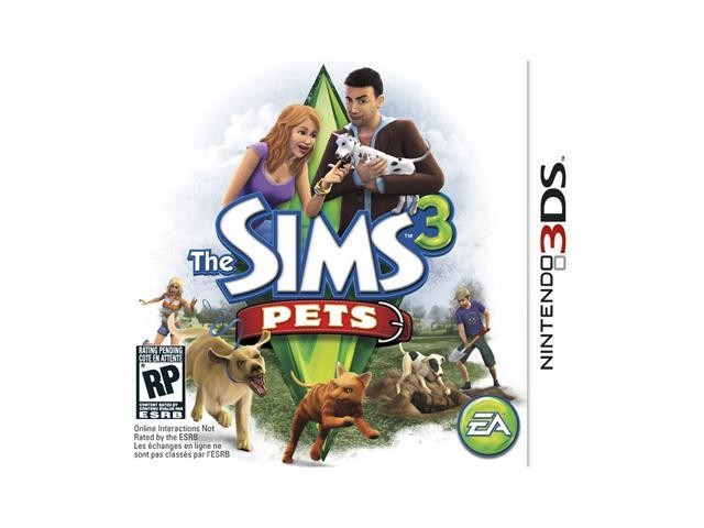 Sims 3: Pets Nintendo 3DS Game