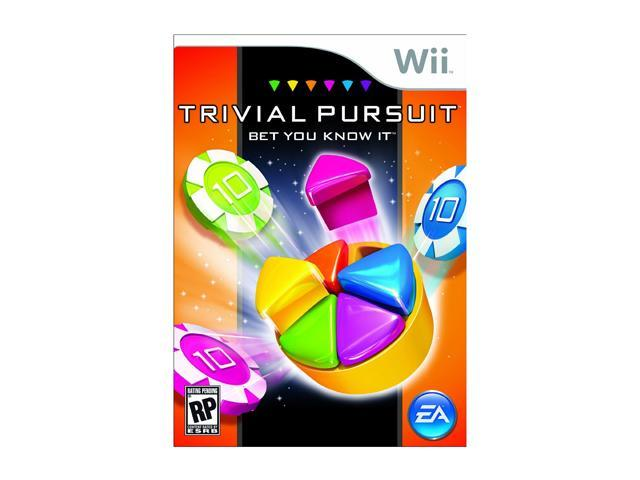 Trivial Pursuit: Bet You Know It Wii Game