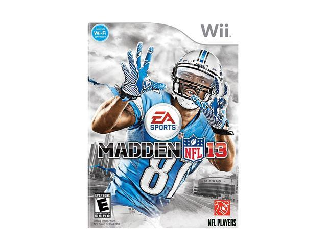 Madden NFL 13 Wii Game