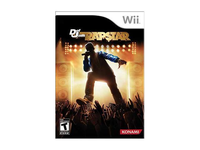 Def Jam Rapstar Wii Game