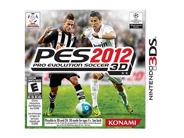 Pro Evolution Soccer 2012 Nintendo 3DS Game