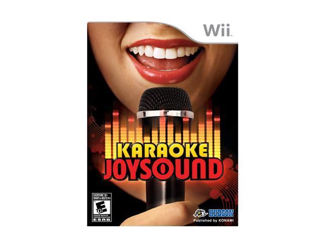 Karaoke Joysound Bundle Wii Game
