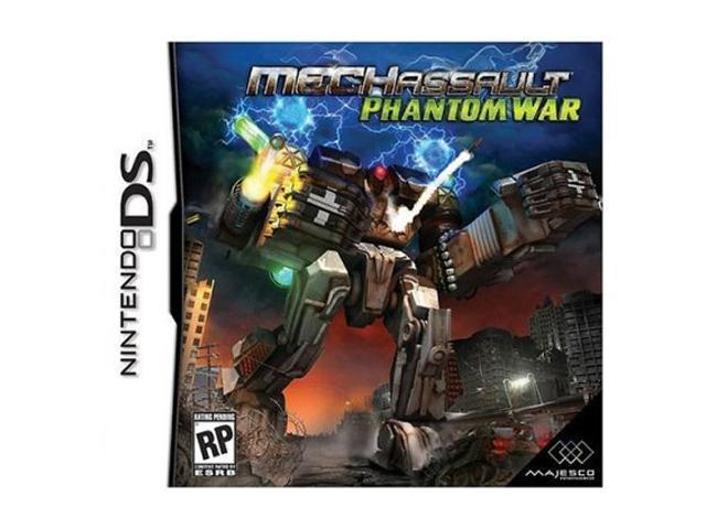 MechAssault: Phantom War Nintendo DS game MAJESCO