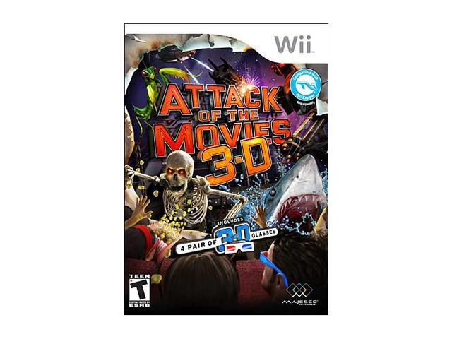 Attack of the Movies 3-D Wii Game