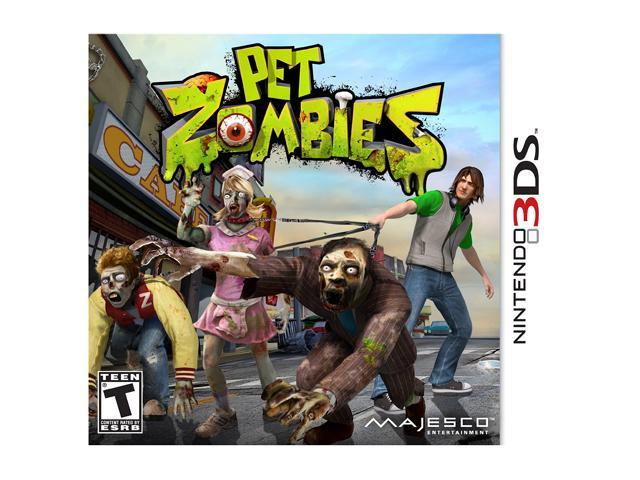 Pet Zombies in 3D Nintendo 3DS Game