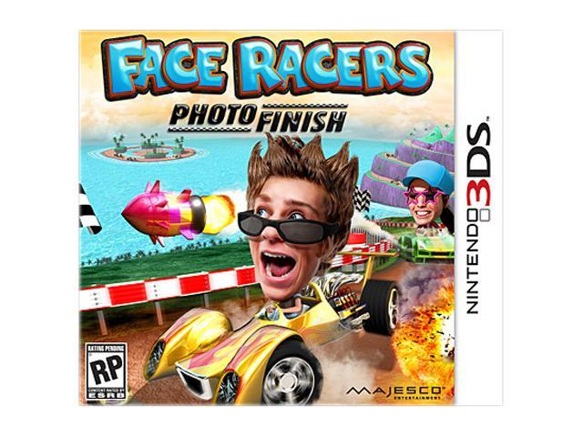 Face Kart: Photo Finish Nintendo 3DS Game