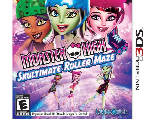 Monster High: Skultimate Roller Maze Nintendo 3DS Game