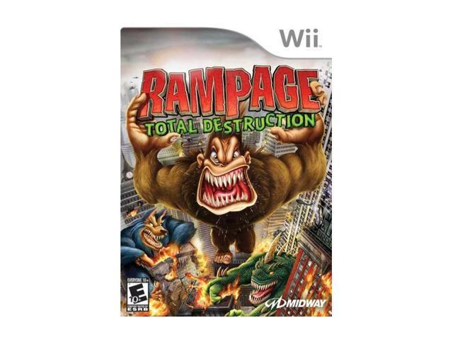 Rampage: Total Destruction Wii Game