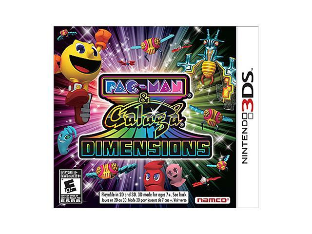 Pac-Man & Galaga Dimensions Nintendo DS Game