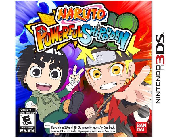 NARUTO Powerful Shippuden Nintendo 3DS Game