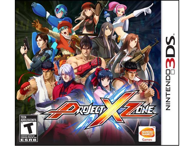 Project X Zone Nintendo 3DS Game