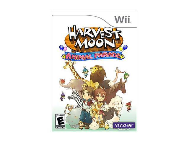 Harvest Moon: Animal Parade Wii Game