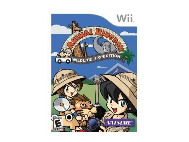 Animal Kingdom: Wildlife Expedition Wii Game