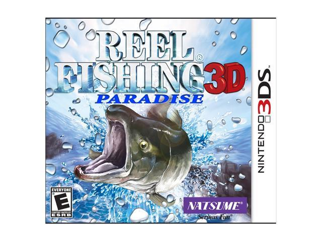Reel Fishing Paradise Nintendo 3DS Game