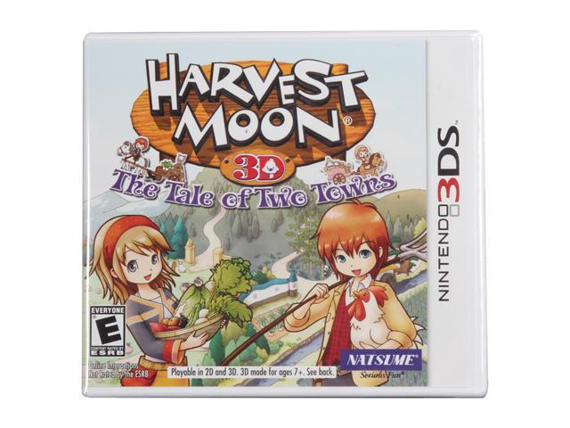Harvest Moon: Tale of Two Towns 3ds Nintendo 3DS Game