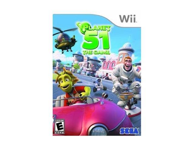 Planet 51 Wii Game