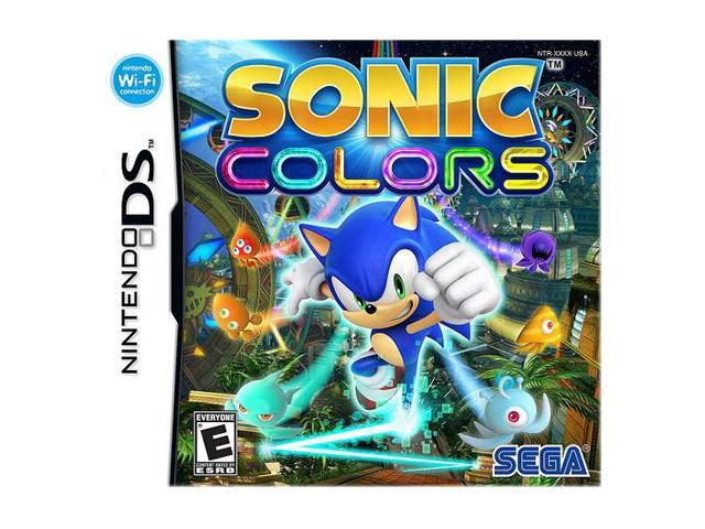 Sonic Colors Nintendo DS Game