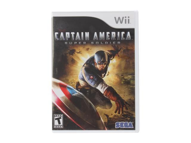 Captain America: Super Soldier Wii Game