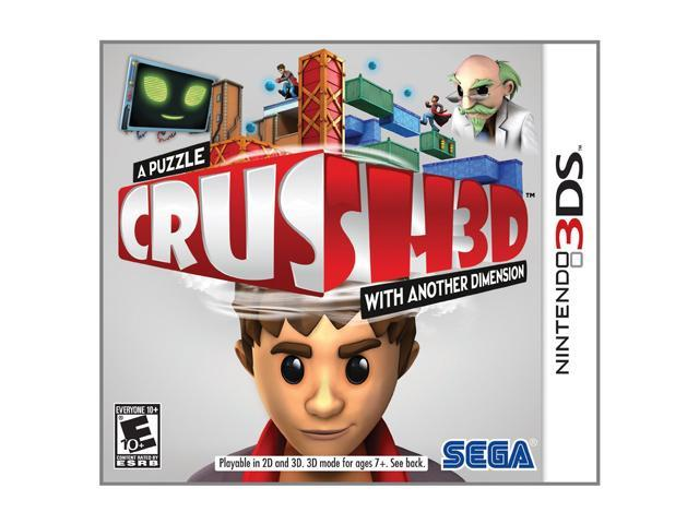 Crush 3D Nintendo 3DS Game
