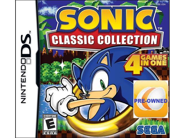 Pre-owned Sonic Classic Collection DS