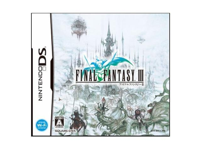 Final Fantasy III Nintendo DS game SQUARE ENIX