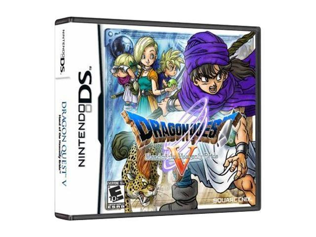 Dragon Quest V: Hand of the Heavenly Bride Nintendo DS Game