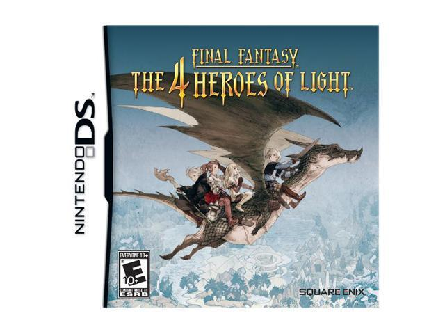 Final Fantasy: 4 Heroes of Light Nintendo DS Game